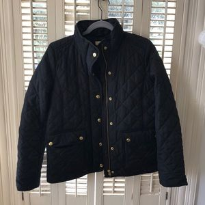 J.Crew quilted puffer